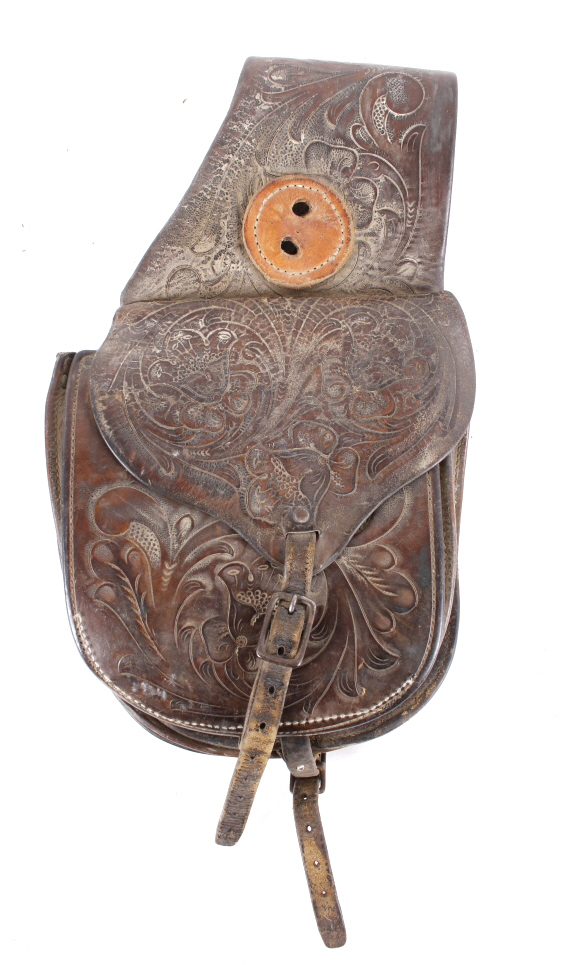 Antique Western Saddle Bags