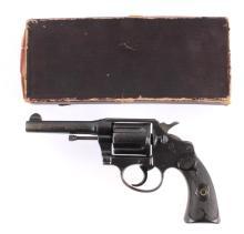 Colt Police Positive 38 Special DA Revolver w/ Box
