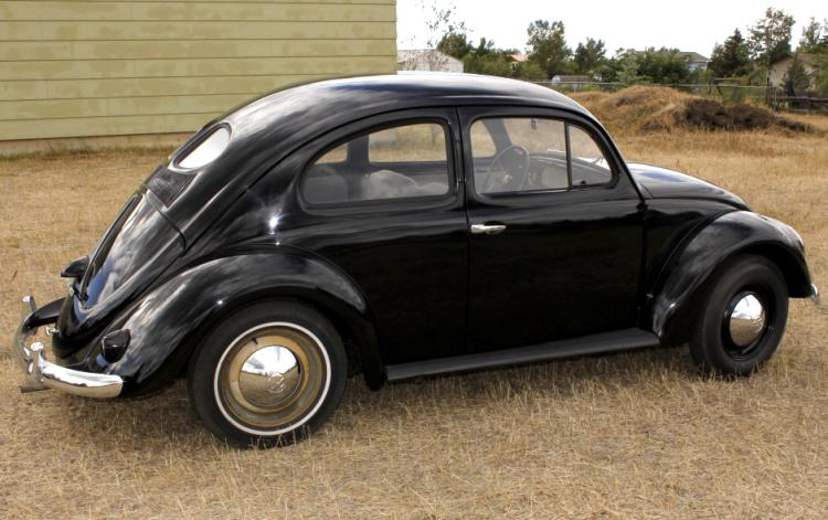 1953 volkswagen zwitter beetle split window rare for 1952 split window vw bug
