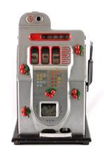 1940's Mills Black Cherry 5¢ Slot Machine