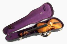 Early German Violin With Case c.1900