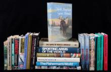 Large Hunting, Firearm & Fishing Book Collection