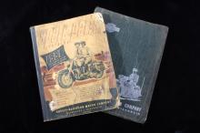 Harley-Davidson Spare Part & Service Books 1946-50