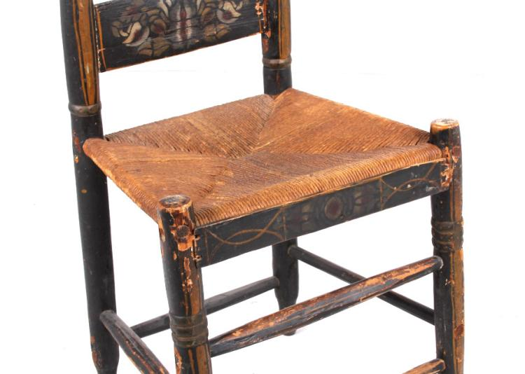 Antique American Colonial Chair Collection