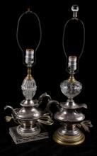 Plaza Hotel Coffee Creamer & Tea Server Lamps