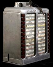 Win-Mor 5¢/10¢/25¢ Jukebox Wall Box Selector