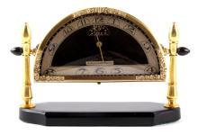 Silvercraft Alarm Art Deco Clock