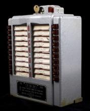 1952 Rock-Ola Model 1538 Wall Box Jukebox Selector