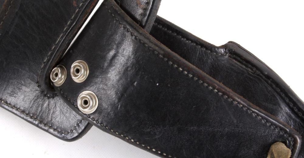 Early Leather Ammo Belt & Colt Walker Holster