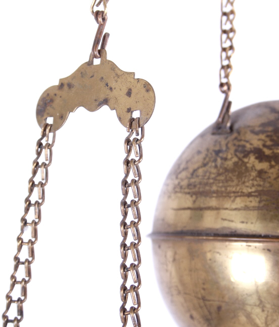 Clark Brothers Amp Co Brass Victorian Hanging Lamp