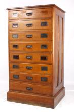 Early American Raised Panel Architectural Cabinet