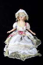 Early Butte, Montana Boudoir Bisque Doll