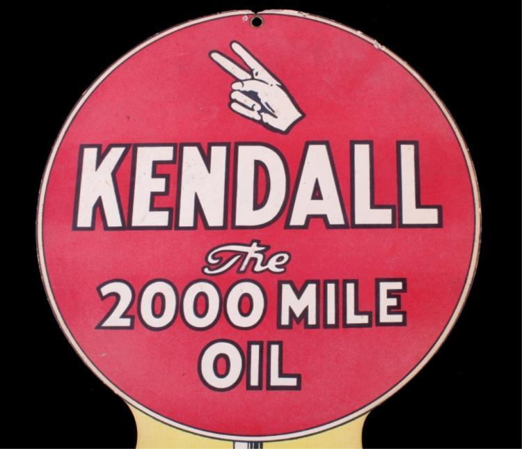 Kendall Motor Oil Rare Paper Advertisement
