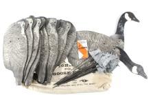 One Dozen Complete Johnson's Folding Goose Decoys