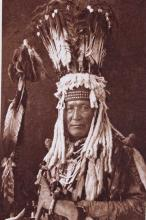 Mountain Chief 1913 Etching by Rodman Wanamaker Th