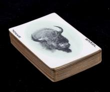 Yellowstone Park Haynes Souvenir Playing Cards Thi