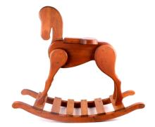 Wooden Child's Rocking Horse