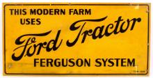 1930's Ford Tractor Sign