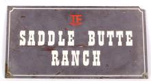 Saddle Butte Ranch Geyser, Montana