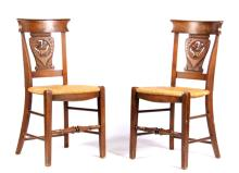 Pair of Civil War Era Chairs