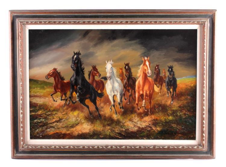 Hans Riedmann Original Oil on Canvas Painting