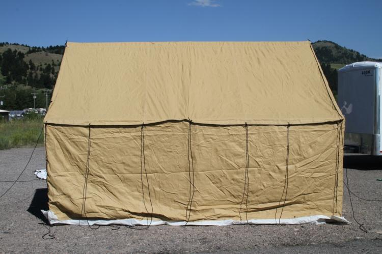 Montana Canvas Blend Wall Tent With Aluminum Frame