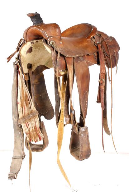 Hereford Tex Tan of Yoakum Working Saddle