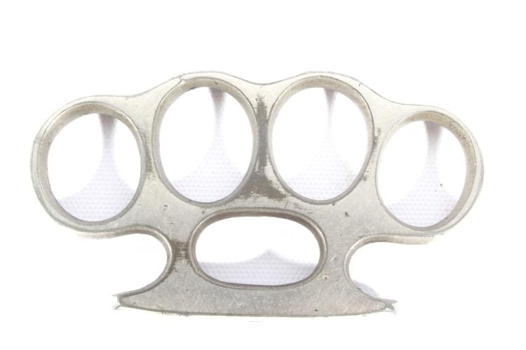 Early Pair Of Brass Knuckles