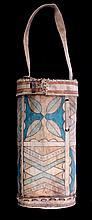 Sioux Parfleche Round Case This is an original han