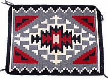Navajo Two Grey Hills Pattern Rug This is a very t