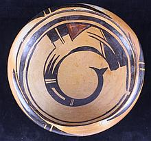 Navajo Polychrome Bowl circa 1931 This piece was a