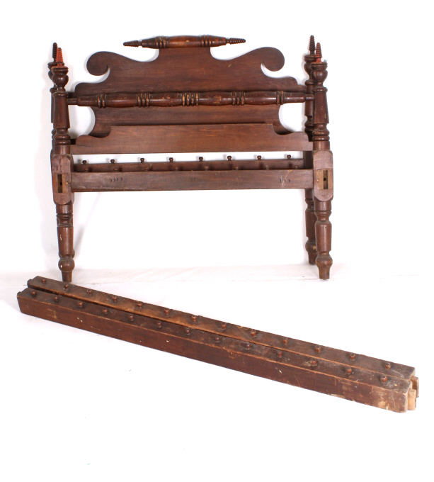 Antique Colonial Style Bed Frame