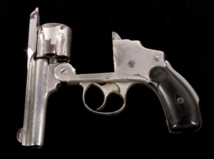 Smith & Wesson Lemon Squeezer  38 Revolver Nickel