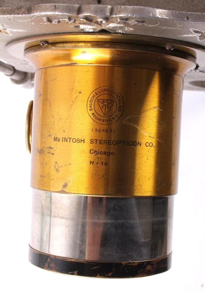 Antique Magic Lantern Stereopticon Viewer Amp Slides