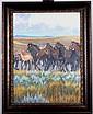 Running Horses by Dennis Grismer