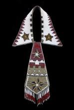 Nez Perce Native American Beaded Necktie c.1900