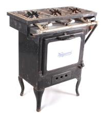 Antique Wedgewood Porcelain Door Stove And Range