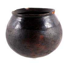 Early Southern Plains Indian Pottery Vessel
