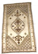 Persian Medallion Wool Rug