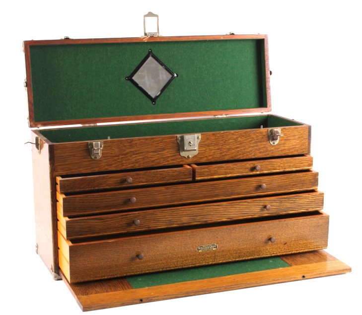 Machinist tool chest clover polisher