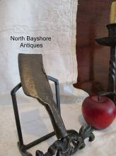 New England Colonial Blacksmith Wrought Iron Herb Chopper 1700s