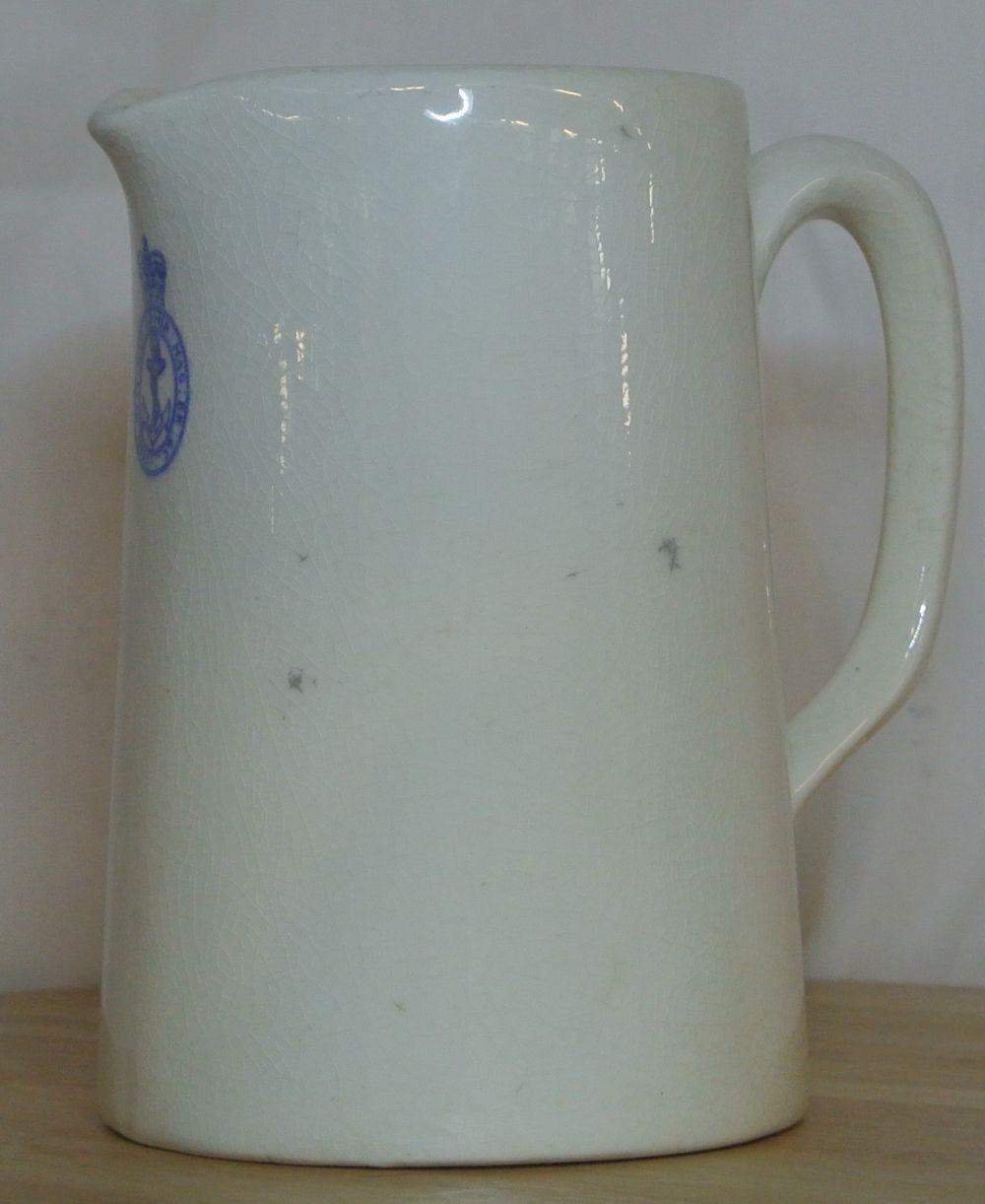 Lot 22: A vintage British Navy ceramic jug