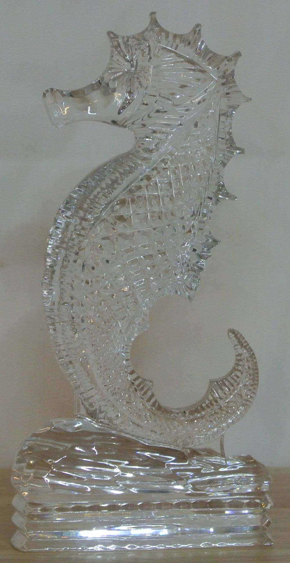 A scarce Waterford Crystal Seahorse