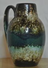 Lot 35: A vintage/ Mid Century Western German 'Fat Lava' jug