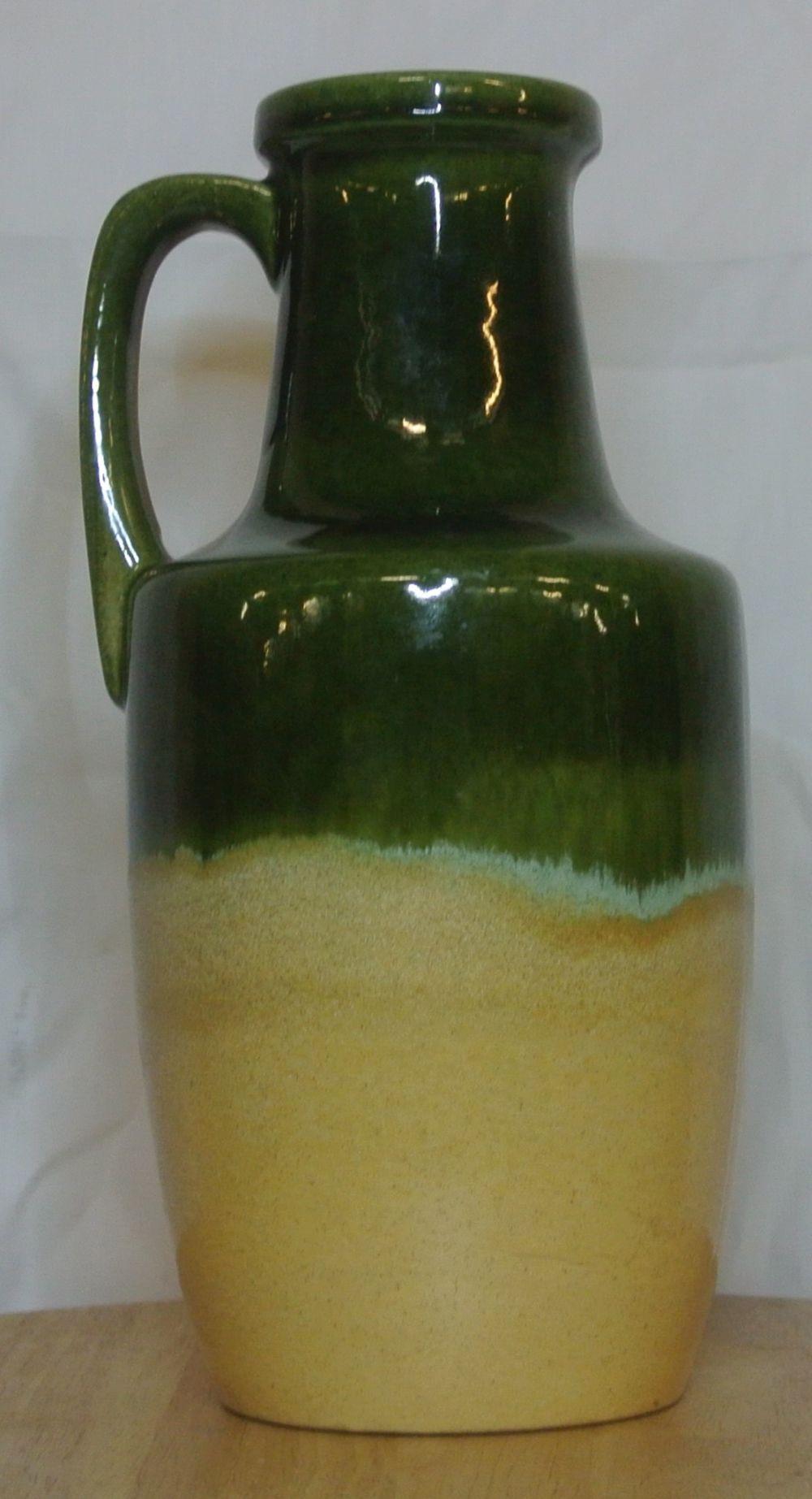 Lot 41: A vintage/ Mid Century Western German 'Fat Lava' jug