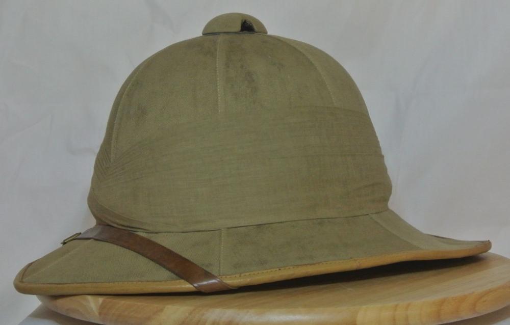 Lot 96: A vintage British Military Pith helmet
