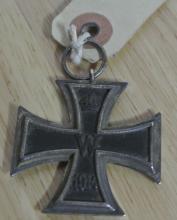 Lot 161: A WW1 era German Iron Cross, dated 1914.