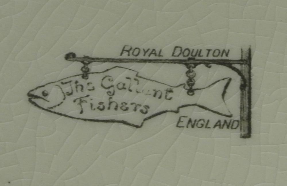 Lot 107: A Royal Doulton cabinet plate