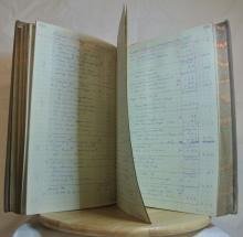 Lot 138: A piece of Belfast History, a large ledger