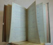 Lot 139: A piece of Belfast History, a large ledger